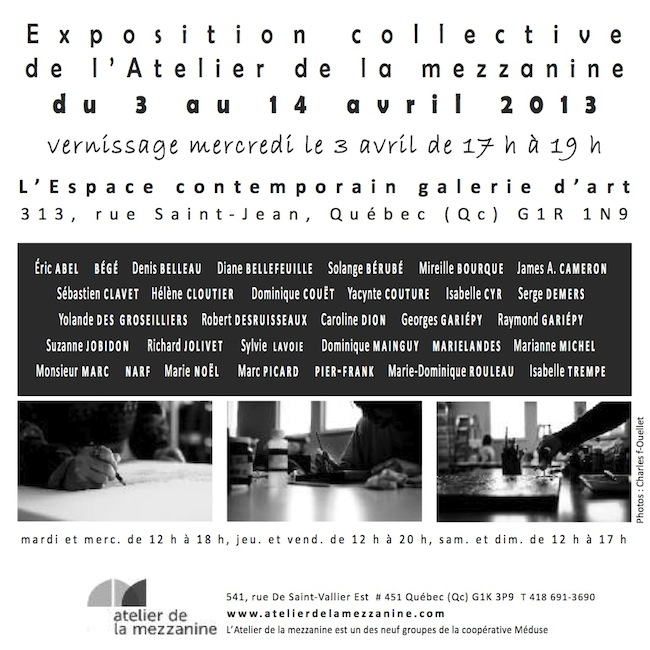 Exposition collective 2013